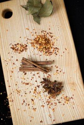 Obraz bobkový list, koření