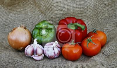 Obraz Bodegon de Verduras