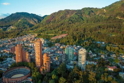 Obraz Bogota a Andách