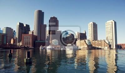 Boston z Fan Pier.