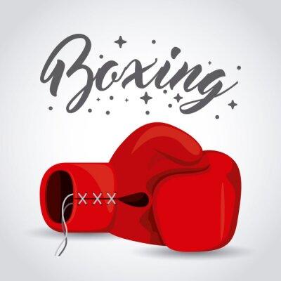 Obraz box sportovní design