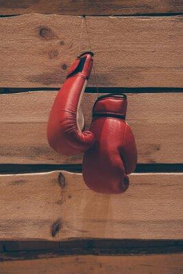 Obraz Boxerské rukavice na stěnu.