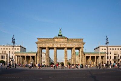Obraz Braniborská brána, Berlín, Německo