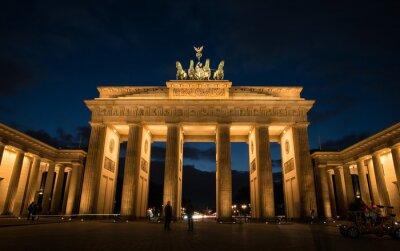 Obraz Braniborská brána Berlín Německo