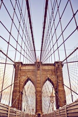 Obraz Brooklynský most v New Yorku