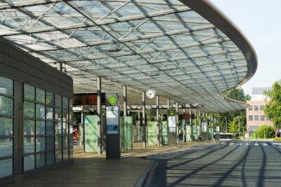 Obraz Busbahnhof v Herne, NRW, Deutschland