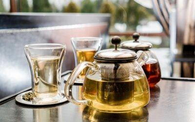 Obraz čajový set