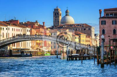 Canal Grande v Benátkách, Itálie