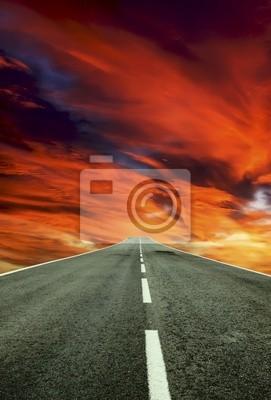Obraz Carretera al cielo
