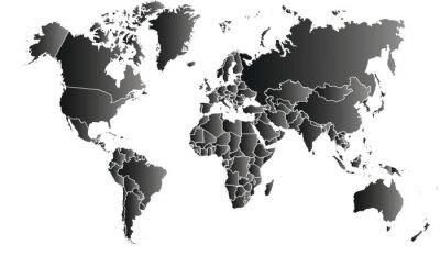 Obraz carte du monde 06072015