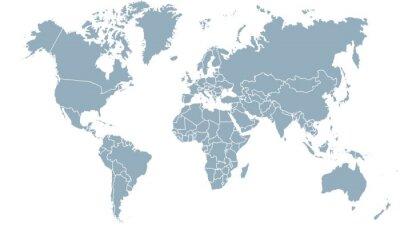 Obraz carte du monde 24072015