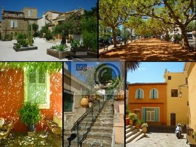 carte postale de provence