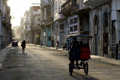 Obraz Časně ráno v ulicích Havana Vieja