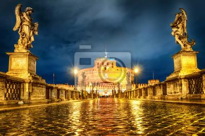Castel San Angelo, Řím, Itálie