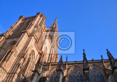 Cathédrale de Strasbourg vue coté Est