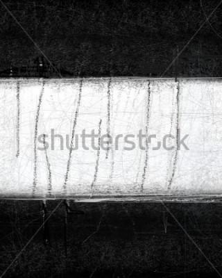 Obraz Černobílé abstraktní malířství