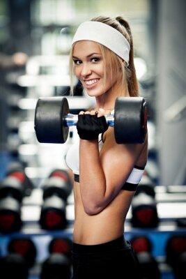 Obraz Čerpací up biceps