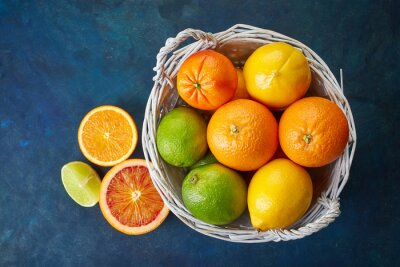 Obraz Čerstvé citrusové plody
