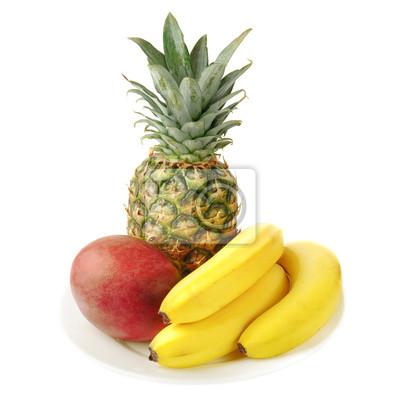 čerstvé tropické ovoce