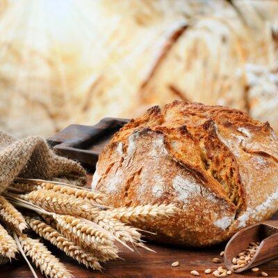 Obraz Čerstvě upečený chléb tradiční