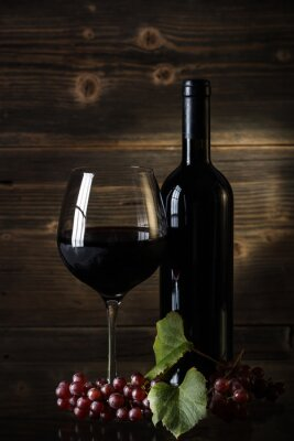 Obraz Červené víno