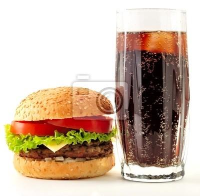cheeseburger a cola