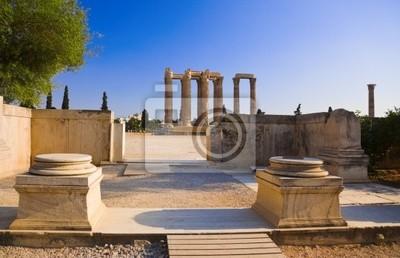 Chrám olympionika Zeus v Aténách, Řecko