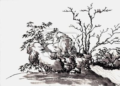 Čínská malba krajiny