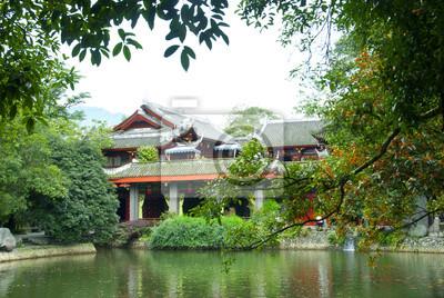 Čínská zahrada venkovní
