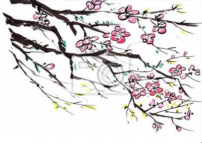 čínština malby květin
