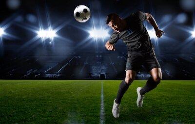 Obraz Číslo hispánský fotbalista míč