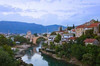 Cityscape of Mostar - Bosnia and Herzegovina