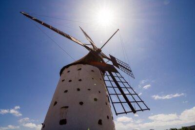 Obraz Classic Vintage Větrný mlýn Budova