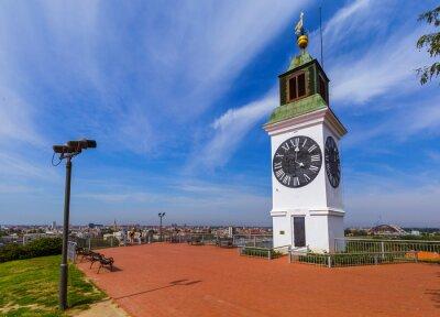 Clocktower in Petrovaradin fortress - Novi Sad Serbia