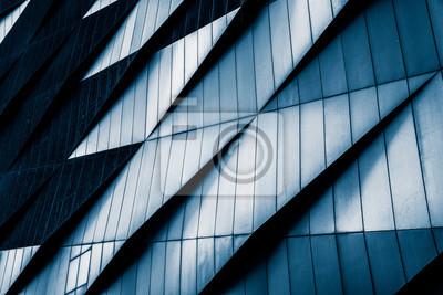 Obraz Close-Up moderních kancelářských budov, Shanghai, Čína.