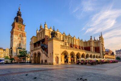 Cloth Hall v Krakově Olt Town, v Polsku