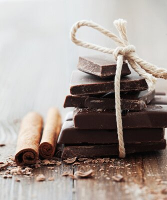 Obraz Čokoláda a skořice