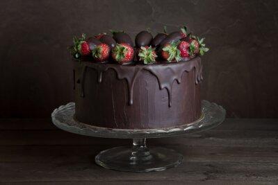 Obraz čokoládový dort
