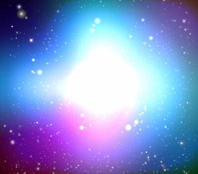 Obraz Color galaxy