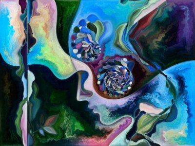 Obraz Conceptual Living Canvas