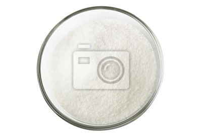 Cukr ve skleněné míse