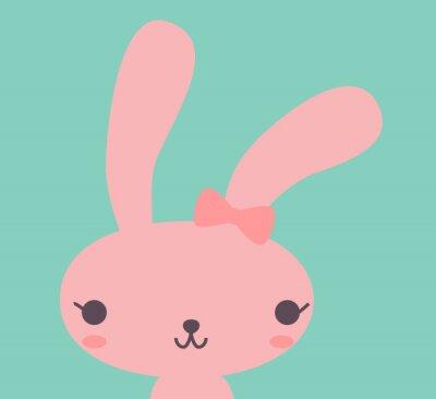 Obraz Cute Rabbit - Vector EPS10 souboru