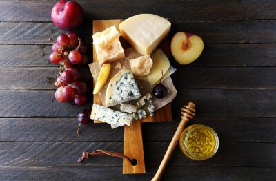 Obraz dark sýr složení