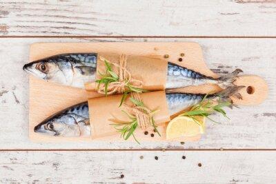 Obraz Delicious čerstvé ryby.