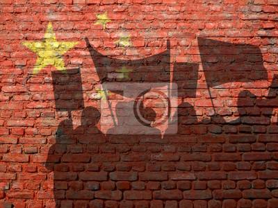 Demonstrace v Číně