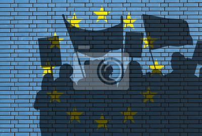 Demonstrace v Evropě