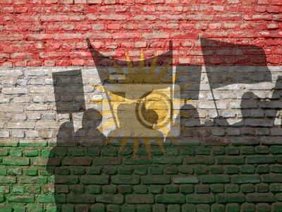 Demonstrace v Kurdistánu