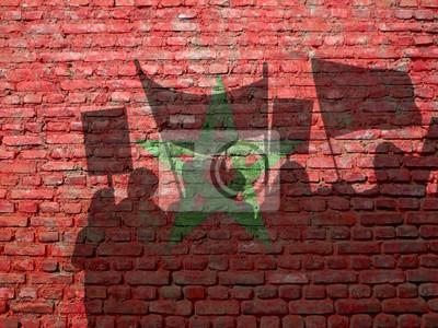 Demonstrace v Maroku