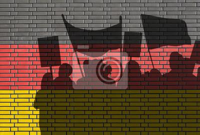 Demonstrace v Německu