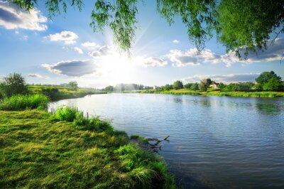 Obraz Den na řece